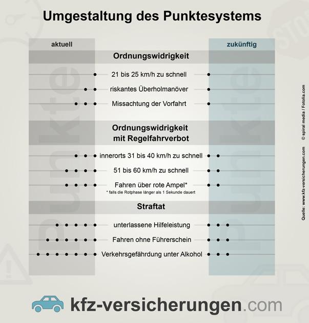 Punktesystem Flensburg